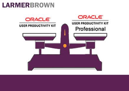 Understanding Oracle UPK Professional