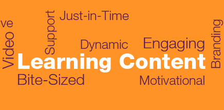 Learning Content wordmap