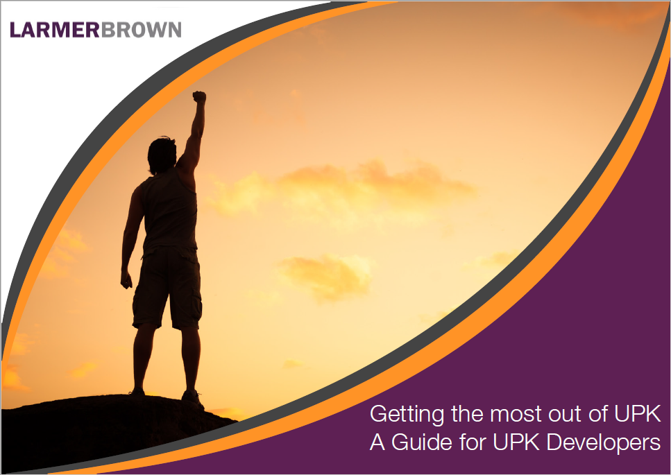 Guide to Getting the most out of UPK