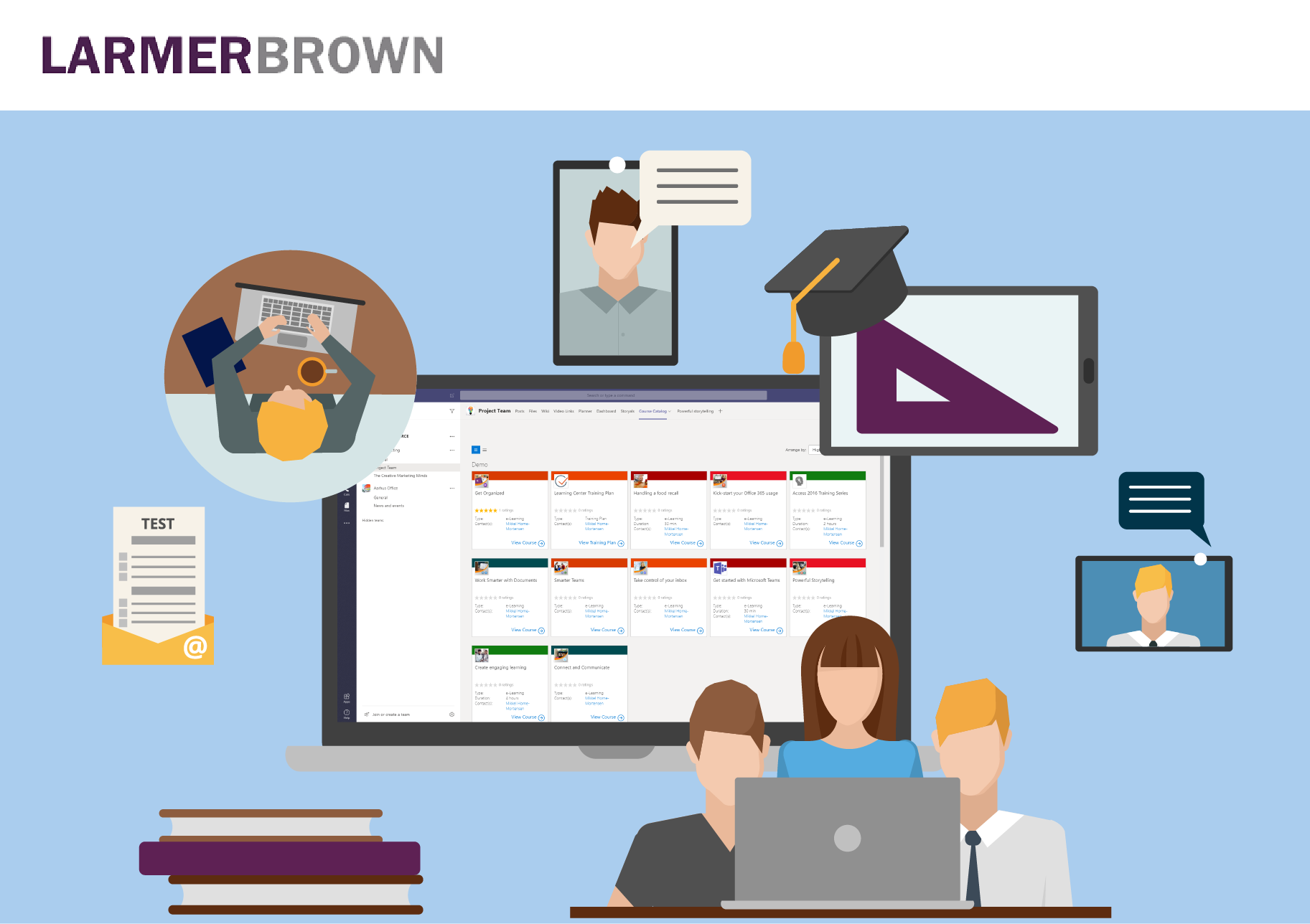 Microsoft Teams for Collaborative Learning with LMS365